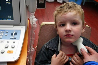 УЗИ щитовидки детям