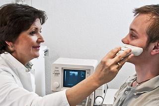 УЗИ придаточных пазух носа как проводится